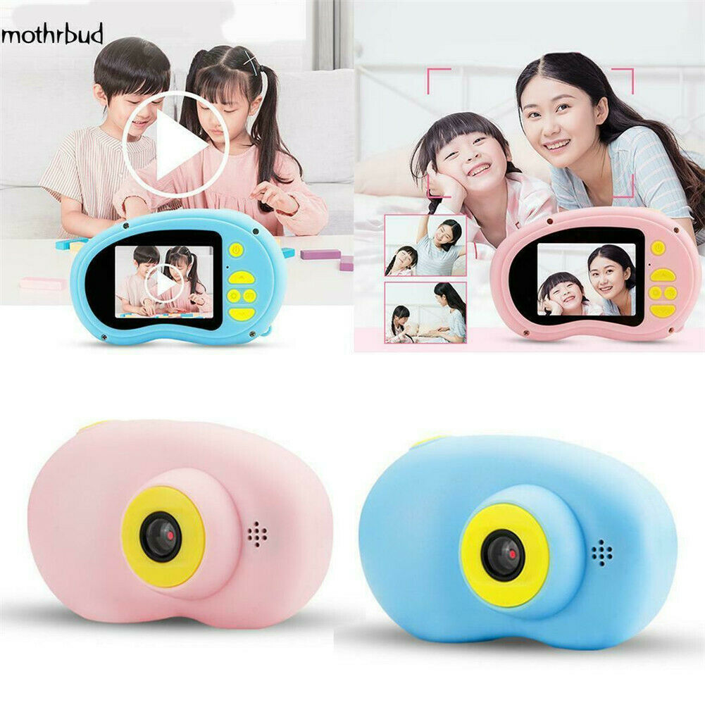X8 Mini Children Camera Cartoon Digital Video Camcorder Rechargeable Motion Camera Kids Cute Toy Perfect Gift image