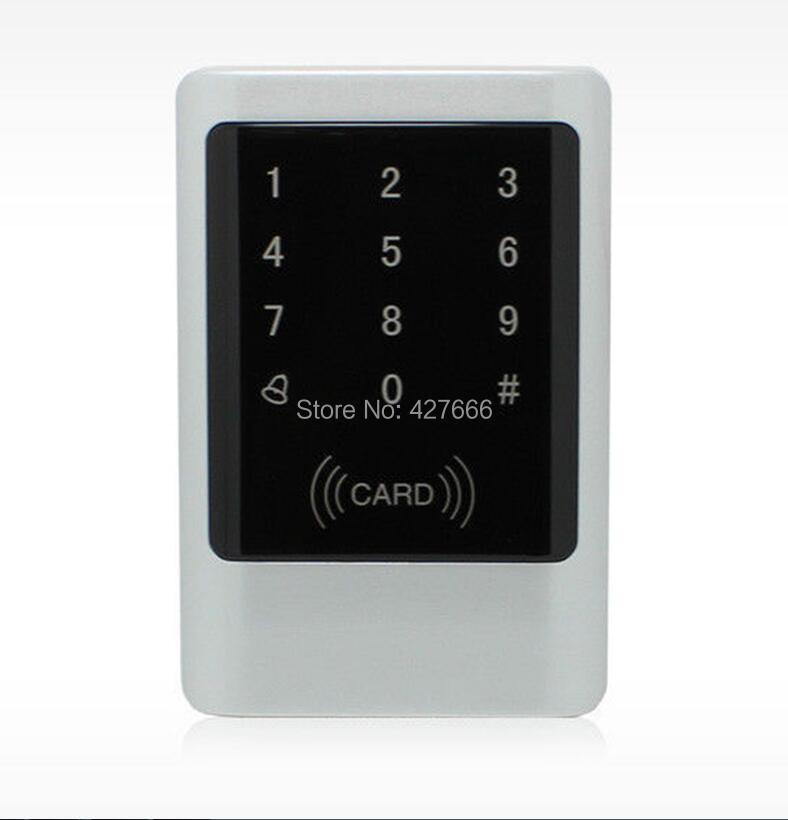 Waterproof Metal 125K EM ID Card Access Control Machine With Keypad Touch Metal standalone access control free shipping touch keypad access control rfid card and touch keypad access control