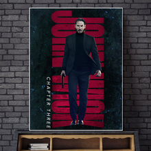 John Wick 3 Parabellum Minimalist Wall Art Canvas Poster And Print Painting Decorative Picture For Bedroom Home Decor HD