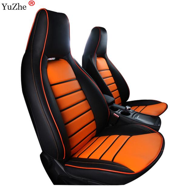 Fundas de asiento de coche Yuzhe para Mercedes-Benz gla 200 cojín de coche GLA 220 gla 260 CIA 200 A180 A200 damas estilo