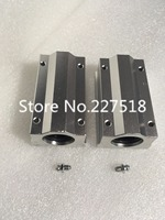 New 10pcs Lot Free Shipping SC20LUU SCS20LUU 20mm Linear Ball Bearing Block CNC Router Pillow