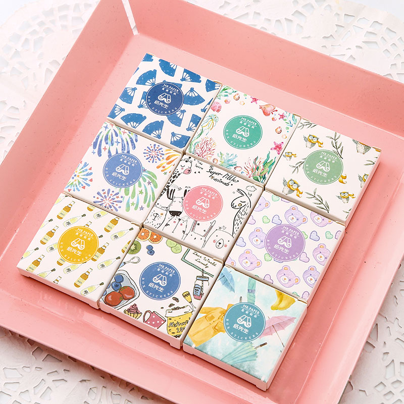 40 Pcs/lot Cute Lovely Fat Cat Bullet Journal Decorative Stickers Scrapbooking DIY Diary Album Stick Lable Japanese Stationery