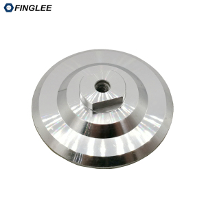 3inch/4inch angle grinder backer pad,aluminium connector joint for diamond flexible polishing pad, M14 or 5/8-11