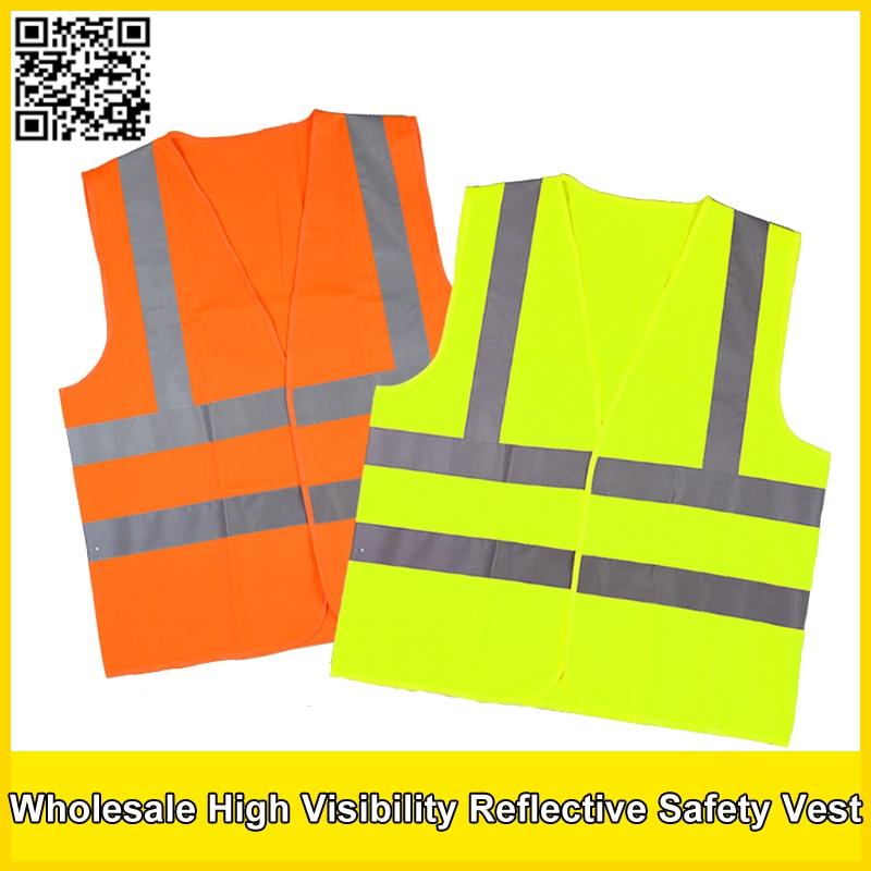 wholesale safety vest  polyester knitted safety vest reflective vest construction /traffic safety clothing free shipping salzmann 41001 cute reflective polyester key toy grey