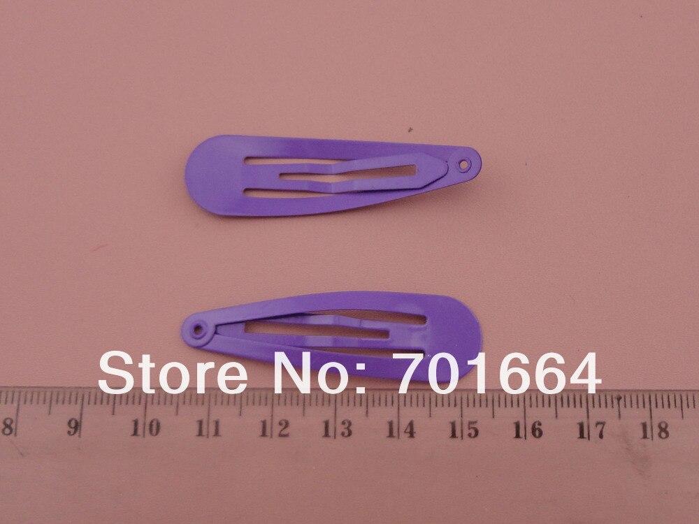 """50 шт. 5,0 см 2,"""" фиолетовый цвет слеза круглая головка обычный металл защелкивающиеся зажимы без отверстия на никеле бесплатно и свинец бесплатно, выгодный для оптом"""