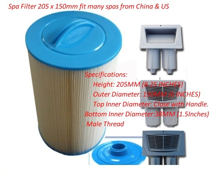 1 x Hot Tub Filters Pww50 6CH-940 Catalina Spaform Aegean Grand Canyon AMS20001 x Hot Tub Filters Pww50 6CH-940 Catalina Spaform Aegean Grand Canyon AMS2000