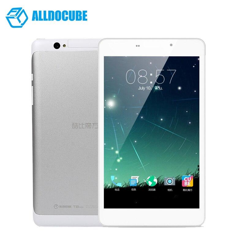 AlldoCube/Cube T8 ultimo Dual 4g Del Telefono Tablet PC MTK8783 Octa Core 8 pollice Full HD 1920*1200 Android 5.1 2 gb di Ram 16 gb di Rom GPS