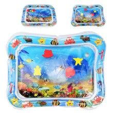 Водный коврик, детский водный игровой коврик, игрушка, надувной, утолщенный, ПВХ, забавный, для малышей, игровой центр, для детей, надувные матрасы, коврики, игрушки
