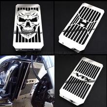 Cubierta de rejilla para radiador de motocicleta, cromada, de alta calidad, Protector para Honda VTX1800 VTX 1800 C F N R S T 2002   2008 2007