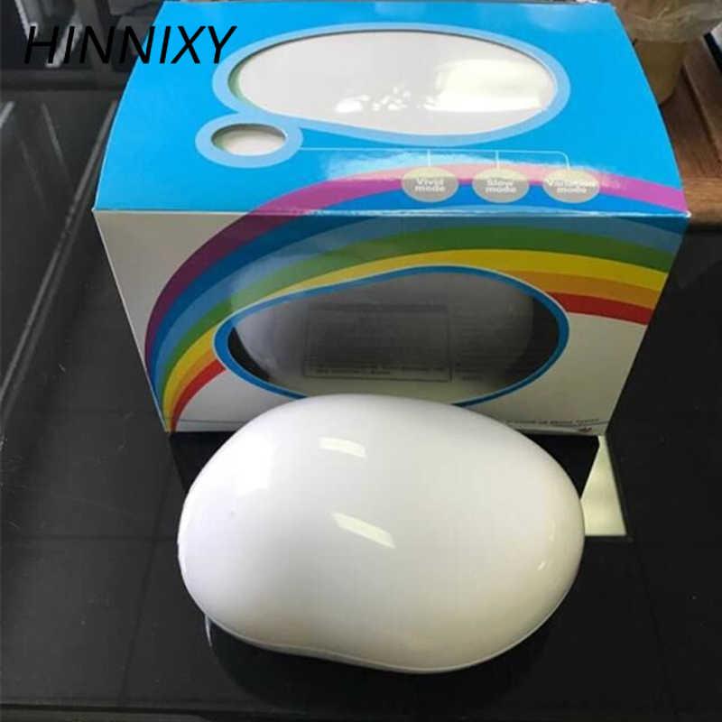 Hinnixy Радуга проекция ночные светильники в форме яйца Красочные Светодиодные Luminaria Дети Девочка Новинка освещение игрушки в подарок на день рождения