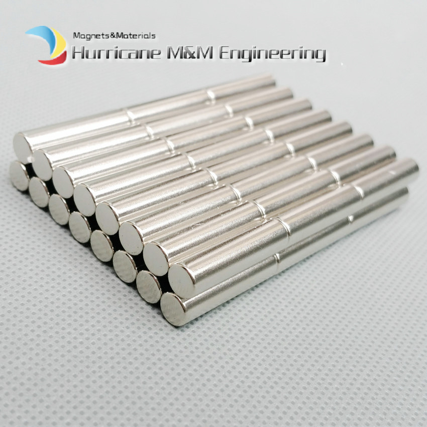 60-1000pcs N42 NdFeB Cylinder Dia 6.35x25.4 mm NdFeB Magnet Rod 1/4x1 Strong Neodymium Rare Earth Magnets Permanent Sensor 1000pcs dia 5mmx2mm 5x2 d5 2 d5 2mm 5x2mm 5 2 neodymium ndfeb rare earth permanent cylinder magnet for diy
