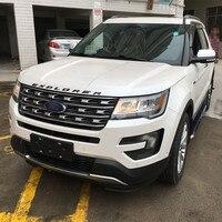 Top Sale Factory Price Car Running Board Black Platic Side Bar Side Step For Explorer Car Styling 2013 2014 2015