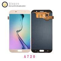 100% Оригинальные ЖК дисплей для samsung Galaxy A7 2017 A720 A720F SM A720F ЖК дисплей Дисплей + Сенсорный экран планшета Ассамблеи