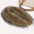 100% Caliente Real Cuello De Piel Natural de Invierno Autume Mujeres Bufandas Suéter Capa de la manera Bufandas de Lujo de piel de Mapache Perro Cuello de Piel Cap
