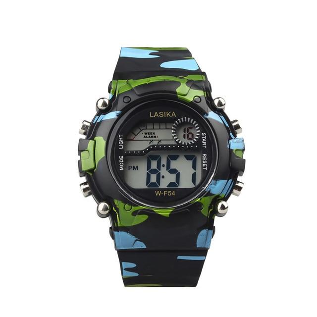 Kids Children Watches Wrist Watches Moment Clock Digital LED Analog Quartz Alarm