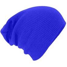 Зимние Шапочки Сплошной Цвет Шляпа Мужская Обычная Теплый Мягкий Череп Вязать Cap Шляпы Трикотажные Touca Gorro Шапки Мужчины Женщины Горячей Продажи