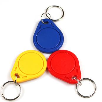 20 sztuk partia RFID 13 56MHz Token Tag IC Key Tag piloty Token pierścień karty wielokrotnego zapisu dla ArduinoBlue kolor NFC TAG tanie i dobre opinie HVTSQGJ Pasywne Karty Odczytu zapisu Alien Karty Bezstykowe Karty IC