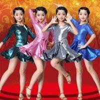 Girl Latin Dance Costume Fashion Practice Performance Professional Competition Latin Dance Dress Salsa Dancewear Tango Clothes