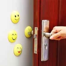 3 шт. самоклеящиеся резиновые двери фиксаторы двери протектор стены наклейки двери буфера резиновый краш-коврик дверной замок