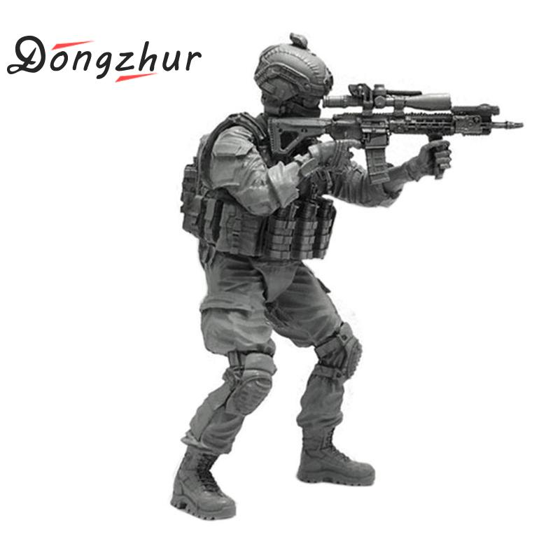 5 cm 1//35 US Special Forces  Sharp Shooter Resin Soldier Model