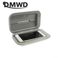 DMWD Double UV Toothbrush Underwear Phone MP3 Sterilizer ultraviolet Sanitizer Disinfector USB disinfection Cosmetic Incense Box