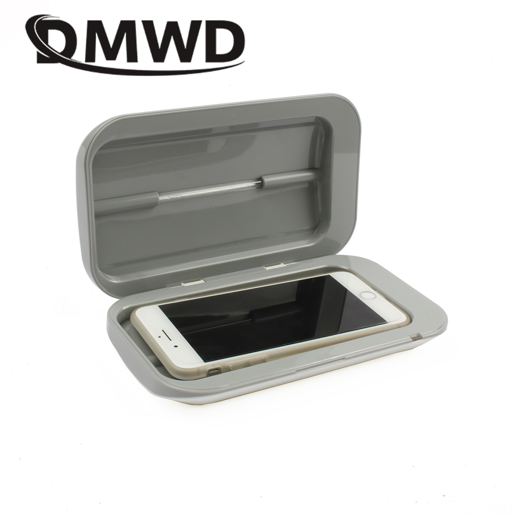 Ev Aletleri'ten Ev Tipi UV Sterilizatörler'de DMWD çift UV diş fırçası iç çamaşırı telefon MP3 sterilizatör ultraviyole dezenfektanı dezenfektan USB dezenfeksiyon kozmetik tütsü kutusu title=