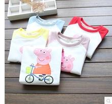 2016 New Children's Clothes For Girls Solids Character High Quality O-Neck Hoodie Children Sweatshirt For Spring Base Shirt