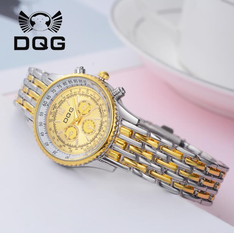 2019 Ny GUOTE Luxury Brand Guld och Silver Elegant Casual Quartz - Damklockor - Foto 5