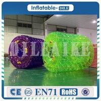 Free shipping 0.8mm PVC 2.4x2.1x1.7m Inflatable Water Roller Ball Walk On Water Ball Aqua Rolling Ball,Roller Wheel Wheel