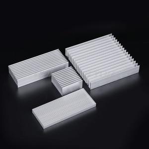Image 2 - Extrudierten Aluminium Kühlkörper Für High Power LED IC Chip Kühler Kühler Kühlkörper Drop Verschiffen