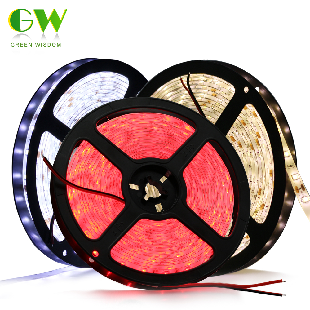 5630 LED Strip White Warm White Blue Green Red 60LEDs/M Waterproof / No Waterproof 5050 RGB RGBW RGBWW LED Strip Light