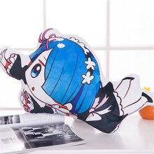 Anime Zero Ram and Rem Cotton Mini Pillow