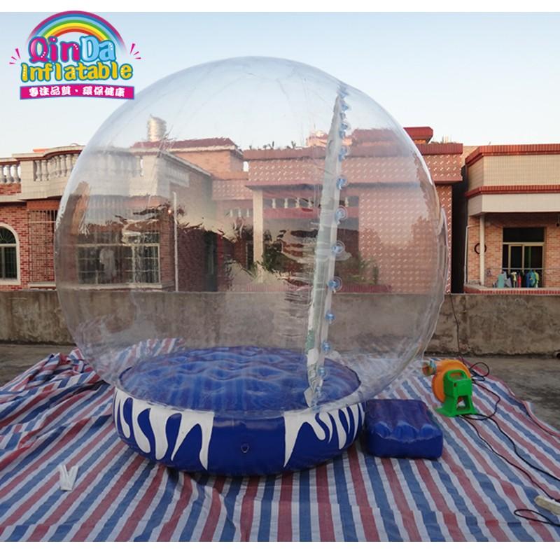 inflatable snow globe29