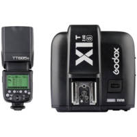 Godox TT685S Thinklite TTL Flash with X1T S Trigger Kit for Sony Cameras