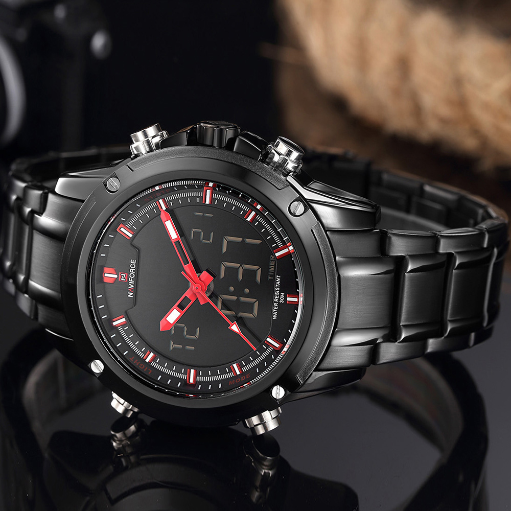 LED NAVIFORCE masculino Watches