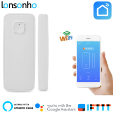 Lonsonho Wifi Smart Door Sensor Window Alarm Wireless House Home Security Works With Alexa Google IFTTT Life Tuya