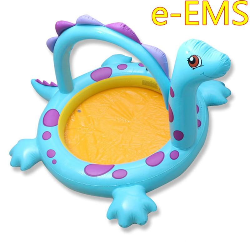 Gonflable enfants dinosaure Spray eau piscine intérieure pataugeoire épaissir mer balle piscine enfants aire de jeux G2200
