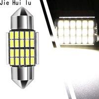 10 Piece Festoon Error Free Canbus C5w C10w Auto Interior Lamp 3014 Smd Styling Light For Car Led Doom Lamp 31mm 36mm 39mm 41mm