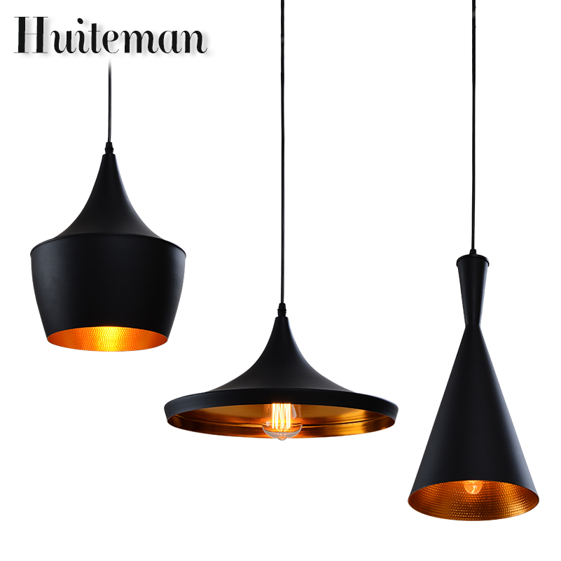huiteman vintage pendant lights home black lighting loft other bedrooms kitchen suspension. Black Bedroom Furniture Sets. Home Design Ideas