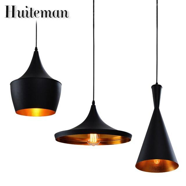 Super Huiteman Vintage Pendentif Luminaire Noir Éclairage Loft D'autres  QH27