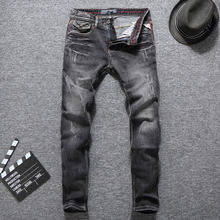 Gute Qualität Mode Für Männer Jeans Vintage Stil Italienischen Designer  Klassische Jeans Männer Slim Fit Baumwolle Hosen Balplei. acae3b2df6