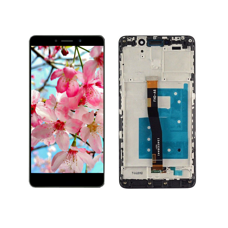 5,5 zoll Hohe Qualität Für <font><b>Huawei</b></font> <font><b>Honor</b></font> <font><b>6X</b></font> <font><b>LCD</b></font> <font><b>Display</b></font> Touchscreen Panel montage Mit Rahmen kostenlose tools image