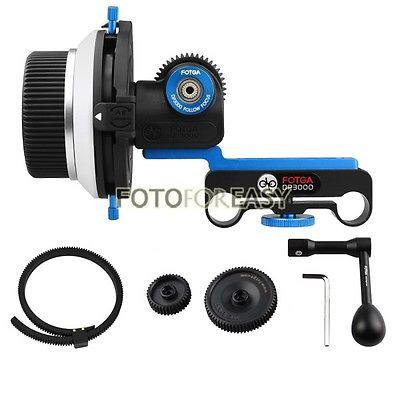 FOTGA DP3000 15mm로드 DSLR Rig 5D2 + Speed Crank + Gear에 - 카메라 및 사진