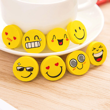 Office School Supplies - Correction Supplies - 2 Pcs/lot (1 Bag ) Cute Kawaii Smiley Rubber Eraser For Kids Gift School Supplies Korean Stationery Wholesale Free Shipping