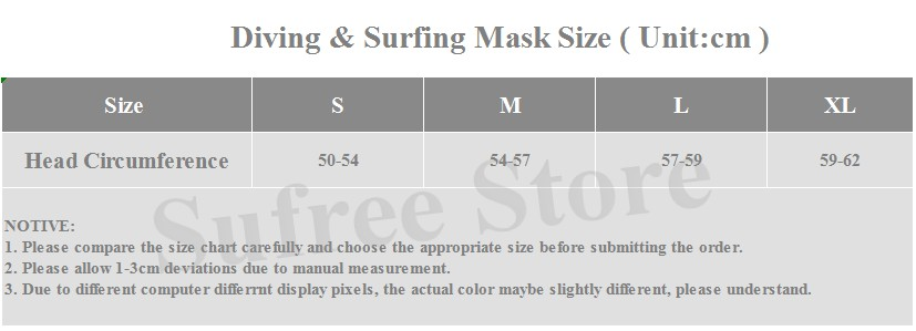 DIVE&SAIL 13mm neoprene diving cap snorkeling swimming hat hood neck cover winter swim keep warm scuba surfing face mask black