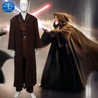 MANLUYUNXIAO Для мужчин костюм Star Wars Анакин Скайуокер Косплэй костюм Для мужчин наряд на Хэллоуин костюм для Для мужчин индивидуальный заказ