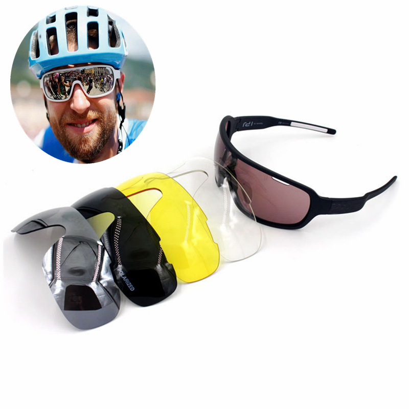 c75514e6f9e Crave 5 Lens Airsoftsports Do Blade Cycling Sunglasses Polarized Men Sport  Road Mtb Mountain Bike Glasses Eyewear-in Cycling Eyewear from Sports ...