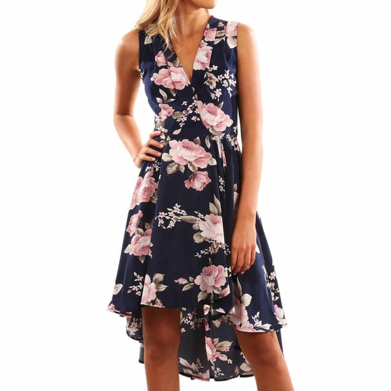 2019 Vestido De Mujer Vintage Fiesta Moda Vestidos Verano