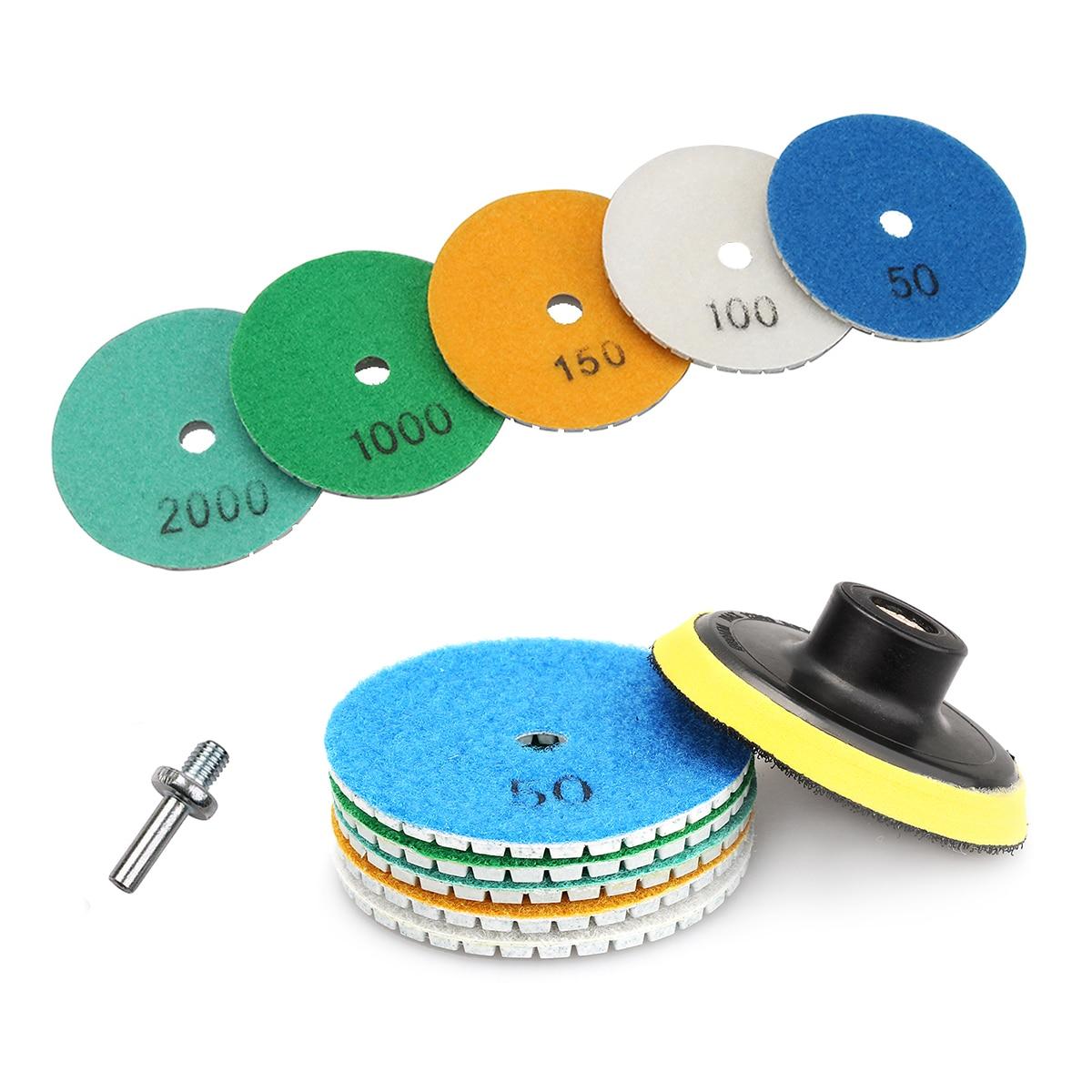 3 Inch Wet Diamond Polishing Pad Grinding Disc For Granite Marble Stone Grinding