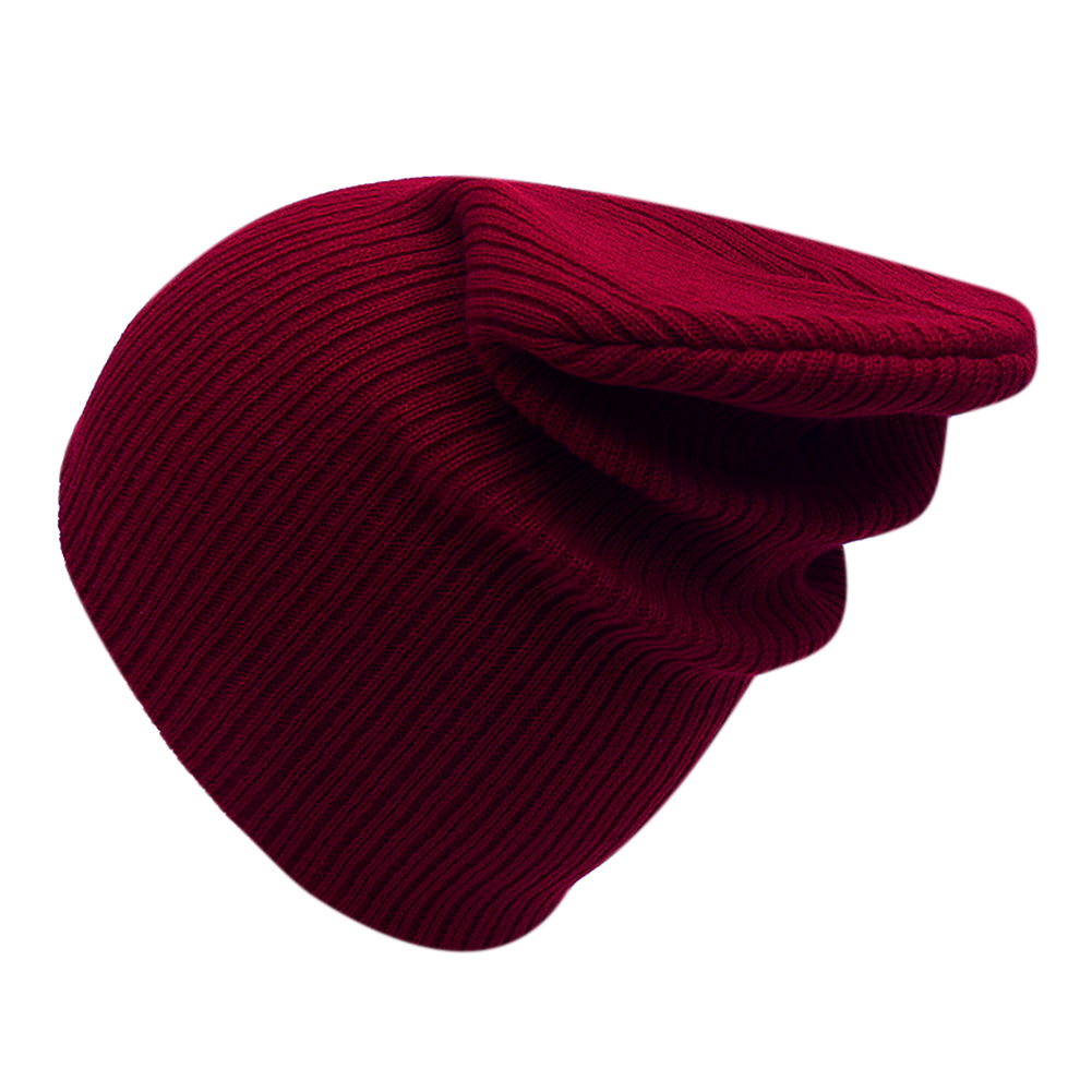 Unisex Women Men Cap Solid Color Warm Hat Skullies Knitted Beanie Cap Beanies Simple Warm Caps Soft Caps Winter Hat Beanies 2017